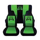 Fits Front And Rear Seat Covers For 2013-2015 Jeep Wrangler 4 Door 4060 Rear
