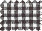 Brown Gingham Check Wholesale Fabric - 20 Yard Bolt - Gcbn