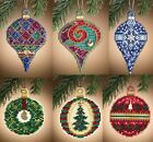 Mill Hill Christmas Jewels Charmed Ornaments Counted Cross Stitch Kits Choose