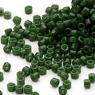 1200 Miyuki Delica 11 Glass Seed Beads 110 Lots Of Opaque Colors 7.2 Grams