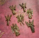 7 Archangel Charms Choose Silver Or Gold Finish Loose Angel Charm Michael