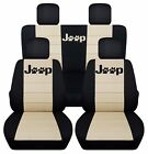Fits 2010-2017 Jeep Compass Patriot Paw Print Jeep Seat Covers Airbag Friendly