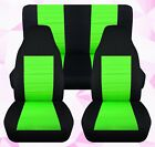 Frontback Car Seat Covers Cotton Color Combination Fits Wrangler Yj-tj-lj