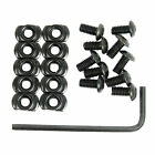 10 Pc Or 20 Pc Mounting Screw Nut Replacement Set For Keymod M-lok Rail Section