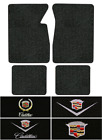 1965-1970 Cadillac Deville Floor Mats - 4pc -loop 2dr Coupe Convertible