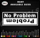 Can-am Commander Problemno Problem Side By Side Stickers Decal Maverick X3