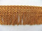 By The Yard 2 14 Quality Chainette Bullion Fringe Trim Choice Of Colors