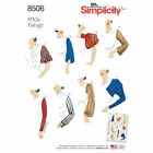 Simplicity Vintage 1930s Series Reissued Sewing Patterns Sizes 6-22 Upick