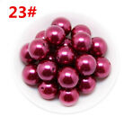 Wholesale 10mm-30mm Round Acrylic Spacer Loose Charm Beads Diy Decoration