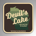 Devils Lake State Park Decal Sticker Explore Wanderlust Camping Wisconsin