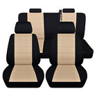 Truck Seat Covers 2014-2018 Chevy Silverado Customized Design Front And Rear Abf