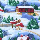 Holiday Christmas Fabric By The Yard 44 Wide Cotton Prints Crafting Quilting