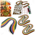 Colourful Quilling Paper Strips Mixed Diy Hand Craft Tool