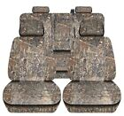 Truck Seat Covers 2014-2018 Chevy Silverado Camouflage Design Custom Fit Abf