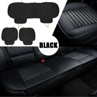 3 Set Car Universal Seat Cover Bamboo Breathable Pu Leather Pad Chair Cushion