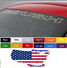 Roush Windshield Decals Sticker 40 X 4 Choose Color Buy Now Freeship