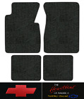 1955-1956 Chevy Nomad Floor Mats - 4pc - Daytona Fits 2dr Wagon