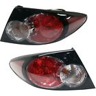 Pair Tail Light For 2006-2008 Mazda 6 Driver Passenger Side Outer Sport Type