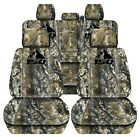 Truck Seat Covers Custom Camouflage Design Fits 2015-2018 Ford F150 Front Rear