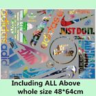 Lots Mixed Nike Adidas Iron On Heat Transfer Sports Logo Patches Diy Hoodie