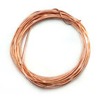 Sale 18 Gauge Dead Soft Round Jewelry Wire Solid Copper Brass Steel Q2 15ft Coil