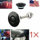 148x Push Button Quick Release Hood Bonnet Pins Lock Clip Car Bumper Latch Kit