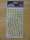 Sticko Alphabet Stickers U Pick New In Package Free Shipping