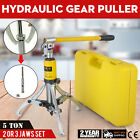 3in1 Hydraulic Gear Puller Pumps Oil Tube 3 Jaws Drawing Machine 5t 15t Opt