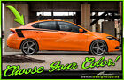 Side Racing Stripes Graphics Style 8 - Fits 2013-2016 Dodge Dart