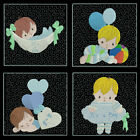 Its A Boy Quilt Blocks- 4inch -12 Machine Embroidery Designs Cd Free Shipping