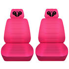 Car Seat Covers 2006-2020 Dodge Charger Front Set Personalized Design Abf