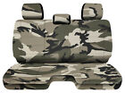 Designcovers Urban Camo13 Fits 05-15toyota Tacoma Front Bench W3headrests