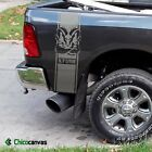Dodge Ram Mascot Hemi 5.7 L - Rear Truck Bed Decal Racing Vinyl Stripes Sticker