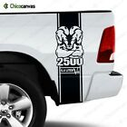 Dodge Ram 2500 Hemi 6.4 L V8 Heavy Duty Rear Truck Bed Decal Vinyl Sticker Kit