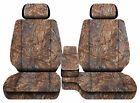Car Seat Covers Camo Reeds Fits Toyota Tacoma2001-2004 Front Bench 60-402hr