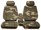 Car Seat Covers Urban Camo Brown Fits Toyota Tacoma 2001-2004 Fr Bench 60-402hr