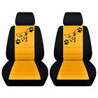 Two Front Customized Seat Covers Fits Selected Honda Models Chihuahua Desgin