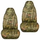 Made To Fit 1991-2001 Ford Explorer Front Set Car Seat Covers Camouflage Design