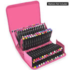 120 Slots Marker Pen Storage Case Carrying Bag Holder Organized For Touch Copic