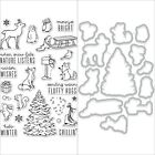 Hero Arts Winter Time Fun Clear Stamps Only Or Stamp Frame Cuts Dies Bundle