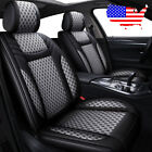 Us Auto 5-seats Car Suv Pu Leather Seat Covers Cushions For Honda Accord Civic