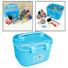 Plastic Storage Box Sewing Thread Container Case Cosmetic Organizer Home