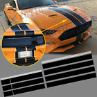 Graphics Rally Racing Stripe Hood Roof Trunk Decal Sticker Wrap For Ford Mustang