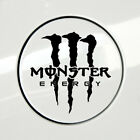 2pc Set Monster Energy Claw Sticker Decals For Cars Gas Cap Windows Laptop Decor