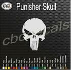 Punisher Skull Vinyl Decal Sticker Car Truck Window Graphics