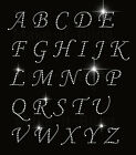 Rhinestone Iron On Heat Transfer Capital Alphabet Letters And Numbers