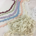 58 Of An Inch Alternating Flower And Leaf Venice Lace Trim 5 Yard Lot
