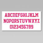 Custom Iron On Heat Transfer 1 Letter Or Number Glitter Flakes Various Colors