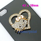 Diy Bling Bling Cell Phone Case Deco Den Kit Metal Cabochon Jewelry Finding