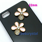 Diy Bling Bling Cell Phone Case Deco Den Metal Crystal Cabochon Jewelry Finding